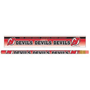 "New Jersey Devils Official NHL Standard 7"" Pencils"