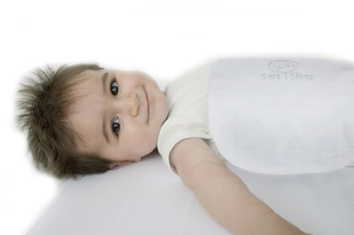 Safe T Sleep Travel Sleepwrap Baby Swaddle for Cribs and Beds
