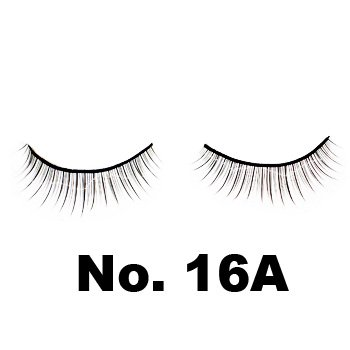 Model 21 False Eyelashes No. 16A, 10 Pairs
