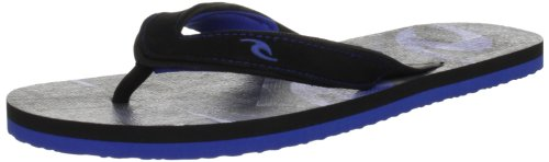 Rip Curl Men's Docks 2 Black/Blue Sandal Tmtr07_107_40 6.5 UK