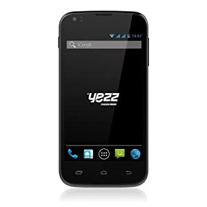 Yezz Andy A4M Pack de Smartphone Dual SIM USB Android 4.2.1 Jelly Bean 1,2 Go Blanc + 2 Coques