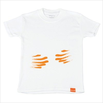 The Messy Line - Cheesy Fingers Top Shirt Size: 5T, Color: Red