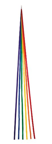 In the Breeze Thin Rainbow Tails, 60-Inch