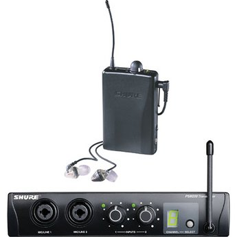 Shure P2Tr115Lcl Psm200 Wireless In Ear System Complete