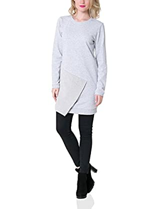 BIG STAR Vestido Dubi_Dress 979 Xs (Gris)