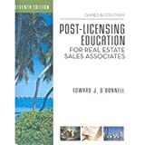 img - for Post-Licensing Education for RE Sales Associates, 7th Edition book / textbook / text book