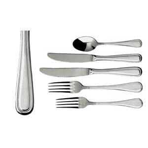 Update International RE-111 18/10 Stainless Steel Regency Series Table Fork, 3mm
