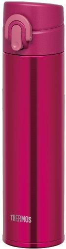 サーモス 水筒 真空断熱ケータイマグ  【ワンタッチオープンタイプ】 0.4L バーガンディー JNI-401 BGD