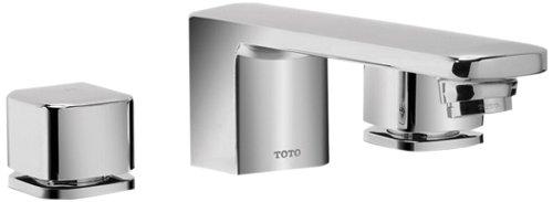 Toto Tb630Dd#Cp Upton Deck-Mount Tub Filler Trim, Polished Chrome