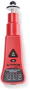 Amprobe TACH-10 Contact and Non-Contact Tachometer