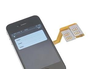 Adaptateur Triple Sim pour iPhone 4