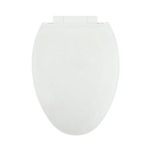 Centoco 1700SC-001 Plastic Elongated Toilet Seat with Closed Front, White (Oval Slow Close Toilet Seat compare prices)