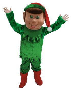 Elf Lightweight Mascot Costume