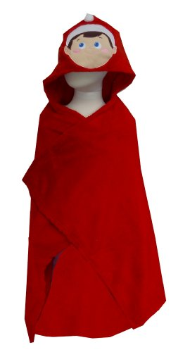 Elf On The Shelf Toddler Hooded Snugglie Blanket Robe For Boys (One Size) front-899676