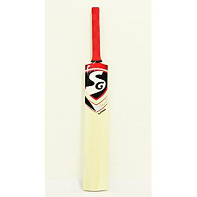 SG Superb Kashmir Willow Tennis Bat - Short Handle