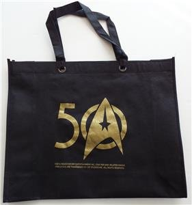 NEW SDCC 2016 EXCLUSIVE Limited Edition STAR TREK 50th ANNIVERSARY Tote Bag