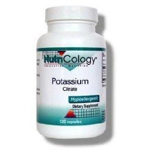 Nutricology citrate de potassium, Vegicaps,