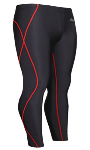 Emfraa Skin Tights Compression Leggings Base Layer Running Pants Men Women Xs ~ 2XL