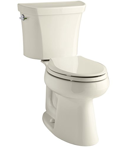 KOHLER-Wellworth-Highline-Two-Piece-Dual-Flush-Elongated-Toilet-with-Class-Five-Flush-System-and-Left-Hand-Trip-Lever