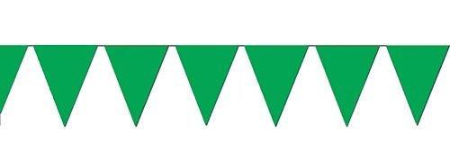 Fun Express Green Pennant Banner, 100'