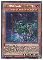 遊戯王 英語版・北米版 茶 Kozmo Dark Planet(S)(1st)