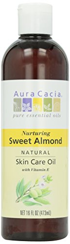 Aura Cacia Natural Skin Care Oil, Sweet Almond, 16 oz