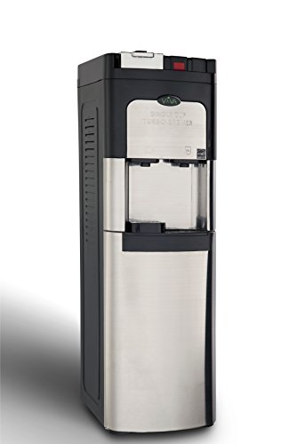 Viva Commercial Single Cup Coffee Maker & Self Clean Stainless Steel Water Cooler