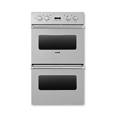 "Viking Vedo1302Ss: 30"" Double Custom Electric Select Oven, No Brass Accent"