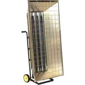Tpi Corporation Fhk13243A Portable Electric Infrared Heater, Metal Sheath, Single Or Three Phase, 13.5Kw, 240V