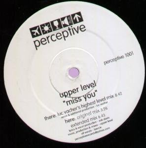 UPPER LEVEL - Miss You - 12 inch 45 rpm
