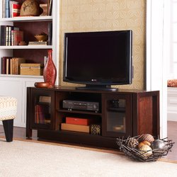 Cheap Holly & Martin Kenton TV Stand – Espresso (63-138-055-6-12)