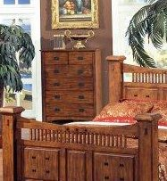 Solid Wood Fully Assembled Chest Pattern Oak Finish Home Garden Pets Furniture Decor
