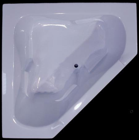 Splash baths soaker series 2 person acrylic bathtub 60 x for Best acrylic bathtub to buy