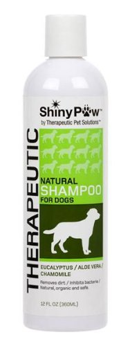 Shiny Paw® All-Natural Therapeutic Shampoo For Dogs - 12 Oz front-630153