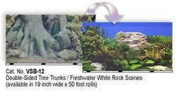 Blue Ribbon Pet Products Ablvsb1219 White Decorative Rock Background For Aquarium, 19-Inch 50-Feet
