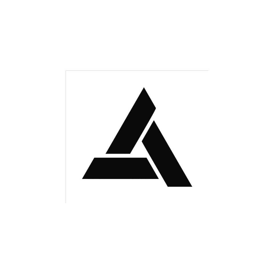 Assassins Creed Abstergo Logo Vinyl Die Cut Decal Sticker 5 Black