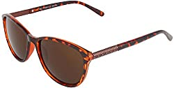 Omnesta Women's Cat-eye Sunglasses (Brown) (PD073)