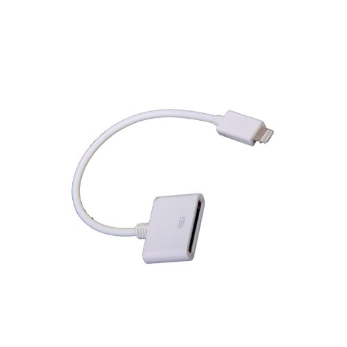 8 pin to 30 pin Cable Adapter For Apple iPhone 5 5G 4 4S iPod iPad Picture