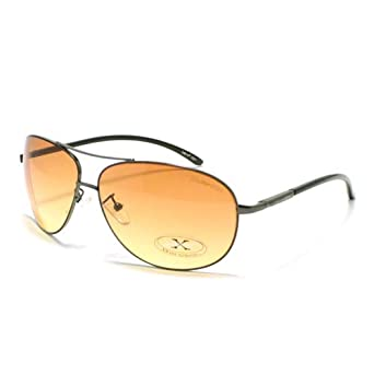 Amazon.com: Gunmetal HD Vision Aviator Sunglasses: Clothing