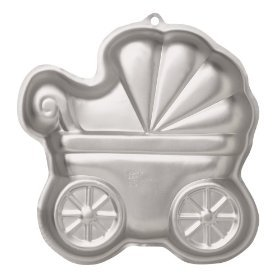 Wilton Baby Buggy Cake Pan -- as shown (Baby Buggy Pan compare prices)