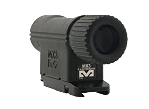 Mako Reflex and Red Dot Sights 3X Magnifier, Black by Mako Group