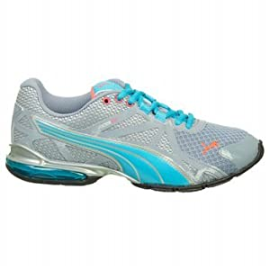 PUMA Women's Voltaic 5 Running Shoe,Trade Winds/Blue Atoll/Puma Silver/Calypso Coral,10 B US