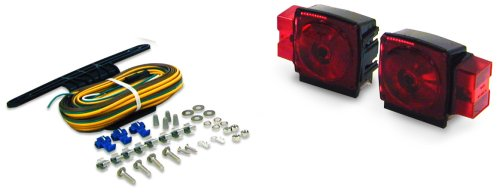 "Blazer C6424 Submersible Trailer Light Kit for Trailers Over & Under 80"" Wide"