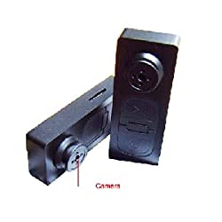 Hightech Gadgets Spy Camera Button For Video Recording High Resolution Quality Plug and Play On Windows and Mac