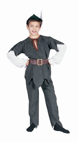 Children's Deluxe Robin Hood Costume (Small 4-6)