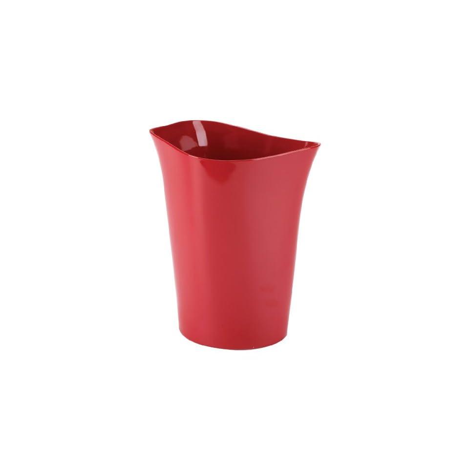 Round Bath Bathroom Mat Rug Red