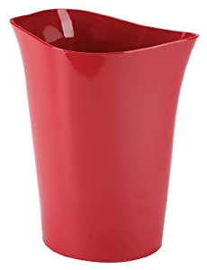 Umbra Orvino Melamine Waste Can, Red