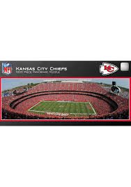 NFL Licensed 1000 piece Panoramic Stadium Masterpieces Puzzle (Kansas City Chiefs) at Amazon.com