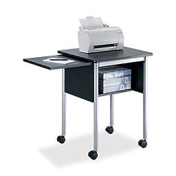 Safco - Machine Stand,w/ Slide Away Shelf,23\