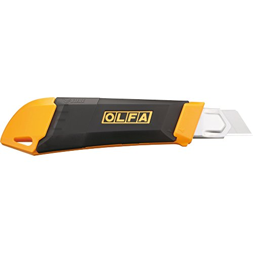 Olfa 1094084 Dl-1 18Mm Snap It 'N' Trap It Heavy-Duty Utility Knife